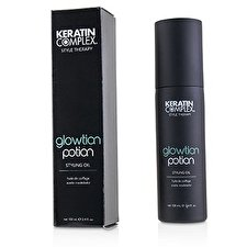 Keratin Complex Style Therapy Glowtion Potion Aceite de Peinar (Para Cabello Saludable, Suave y Brillante) 100ml/3.4oz