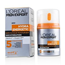 L'Oreal Men Expert Hydra Energetic Daily Anti-Fatigue Moisturising Lotion (Box Slightly Damaged) 50ml/1.6oz