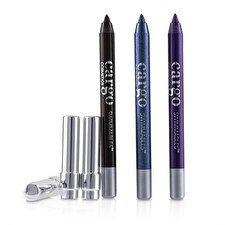 Cargo Swimmables Eye Liner Trio 3x0.8g/0.028oz