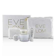 Eve Lom The Radiant Ritual: Cleanser 50ml + Rescue Mask 15ml + Brightening Cream 10ml + Kiss Mix 7ml 4pcs
