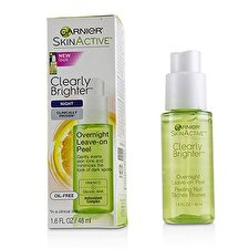 Garnier SkinActive Clearly Brighter Overnight Leave-On Peel 48ml/1.6oz