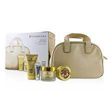 Elizabeth Arden Ceramide Lift & Firm Youth Restoring Collection: Day Cream SPF 30+Ceramide Capsules+Cream Cleanser+Skin Renewal Booster+Bag 4pcs+1bag