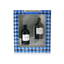 Geoffrey Beene Grey Flannel Coffret: Eau De Toilette Spray 120ml/4oz + Loción Para Después de Afeitar 120ml/4oz 2pcs