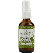 Vitality Aromatherapy Aromatic Mist Spray Uses The Essential Oils Of Peppermint & Eucalyptus To Create A Fragrance That Is Stimulating And Revitalizing 60ml/2oz