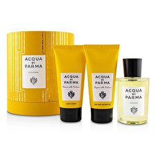 Acqua Di Parma Colonia Coffret: Eau De Cologne Spray 100ml/3.4oz + Bath And Shower Gel 75ml/2.5oz + Body Cream 75ml/2.5oz 3pcs