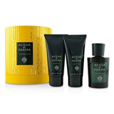 Acqua Di Parma Colonia Club Coffret: Eau De Cologne Spray 100ml/3.4oz + Hair And Shower Gel 75ml/2.5oz + After Shave Balm 75ml/2.5oz 3pcs