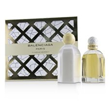 Balenciaga Coffret: Eau De Parfum Spray 75ml/2.5oz + Loción Corporal 200ml/6.7oz 2pcs