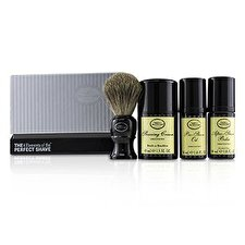 The Art Of Shaving The 4 Elements of the Perfect Shave Mid-Size Kit - Unscented (Pre-Shave Oil 30ml + Shaving Cream 45ml + After-Shave Balm 30ml + Brush) 4pcs