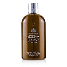 Molton Brown Re-Charge Black Pepper Bath & Shower Gel 300ml/10oz