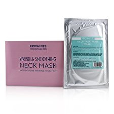 Frownies Wrinkle Smoothing Neck Mask - Moisturizing Gel Patch 1sheet