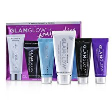 Glamglow Multimasking Set: SuperMud 20g/0.6oz + YouthMud 10g/0.3oz + GravityMud 10g/0.3oz + ThirstyMud 10g/0.3oz 4pcs