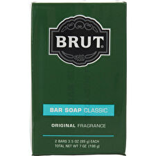 Faberge Brut Bar Soap Each - Pack Of 2 100ml/3.5oz