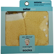 Spa Accessories Essential Moist Socks With Jojoba & Lavender Oils (yellow)