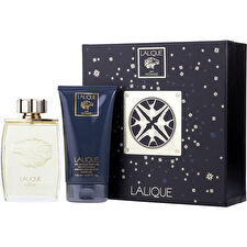 Lalique Eau De Parfum Spray 125ml/4.2oz & Hair And Body Shower Gel 150ml/5oz