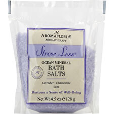 Aromafloria Stress Less Bath Salt Packet Blend Of Lavender Chamomile And Sage 133ml/4.5oz