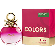 Benetton Colors De Beneton Pink Eau De Toilette Spray 80ml/2.7oz