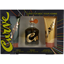 Liz Claiborne Curve Cologne Spray 125ml/4.2oz & After Shave Balm 100ml/3.4oz & Shower Gel 100ml/3.4oz