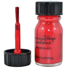Camouflage Nail Polish Chili Red