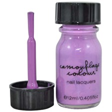 Camouflage Nail Polish Purple