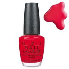 Opi Nail Polish Big Apple Red 15ml