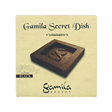 Gamila Secret Dish - Black