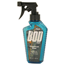 Parfums De Coeur Bod Man American Blue Body Spray 240ml/8oz