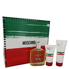 Moschino Moschino Friends Gift Set - Eau De Toilette Spray +1.7 oz After Shave Balm + 3.4 oz Shower Gel