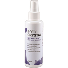 The Body Crystal Body Spray Deo Cryst Mist Frag Free 150ml