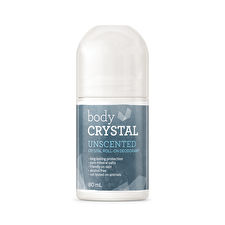 The Body Crystal Crystal Roll On Deodorant Frag Free 80ml
