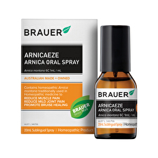 Brauer ArnicaEze Arnica Muscle Pain Bruisng Oral Spray 20ml