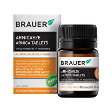 Brauer ArnicaEze Arnica Muscle Pain and Bruising 60t