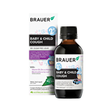 Brauer Baby and Child Cough For Cough Relief 100ml