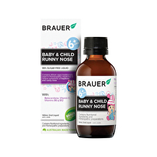 Brauer Baby and Child Runny Nose 100ml