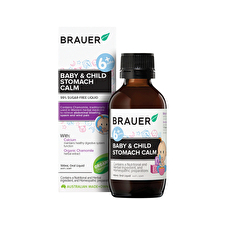 Brauer Baby and Child Stomach Calm For Stomach Upsets 100ml