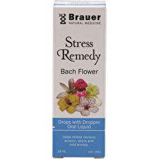 Brauer Bach Flower Stress Remedy Drops 18ml
