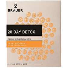 Brauer 20 Day Detox 20 Day Program 200ml x 2 Pack