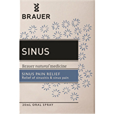 Brauer Sinus For Sinus Pain Relief Oral Spray 20ml