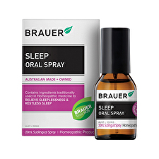 Brauer Sleep Insomnia Relief Oral Spray 20ml