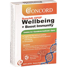 Concord Sunchih GPSP Wellbeing Boost Immunity 20c