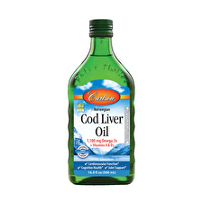 Carlson Cod Liver Oil Unflavoured 500ml