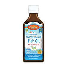 Carlson For Kids Fish Oil Orange Flavour 200ml