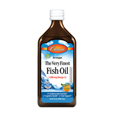 Carlson Fish Oil Omega 3's DHA and EPA Orange Flavour 500ml