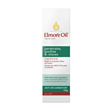 Elmore Oil Natural Relief Topical Cream Anti Inflamm 100g