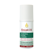 Elmore Oil Nat Relf Topical Liniment Anti Inflam RollOn 50ml