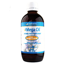 Grahams Natural Mega Oil 200ml