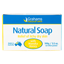 Grahams Natural Soap with Manuka Honey 100g