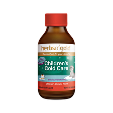Herbs of Gold Children's Cold Care 100ml