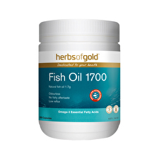 Herbs of Gold Fish Oil 1700 Odourless 200c