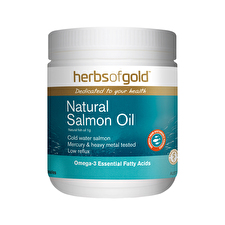 Herbs of Gold Natural Salmon Oil 200c