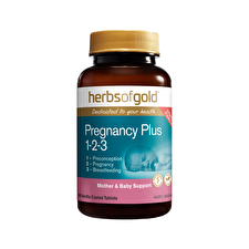 Herbs of Gold Pregnancy Plus 1 2 3 60t